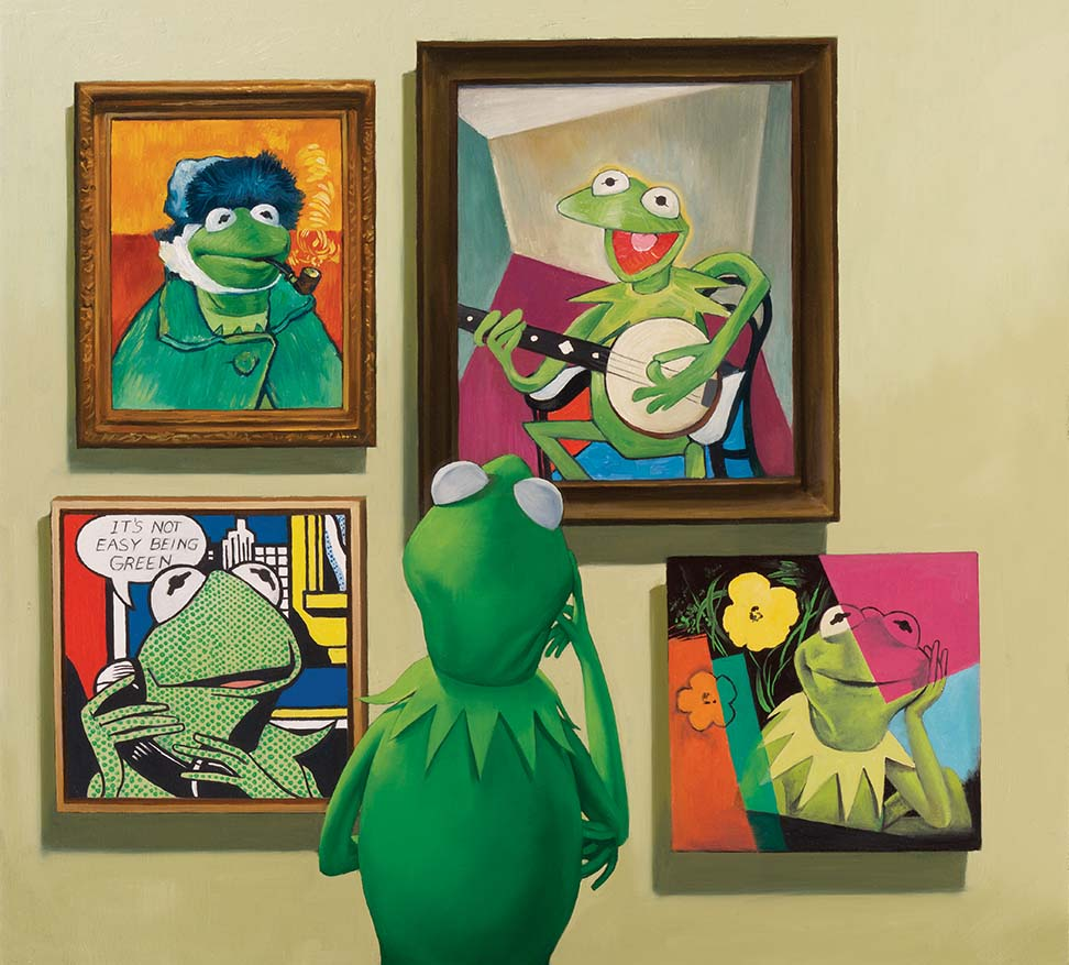 Kermit, Portrait of an Artist, Entertainment Weekly
