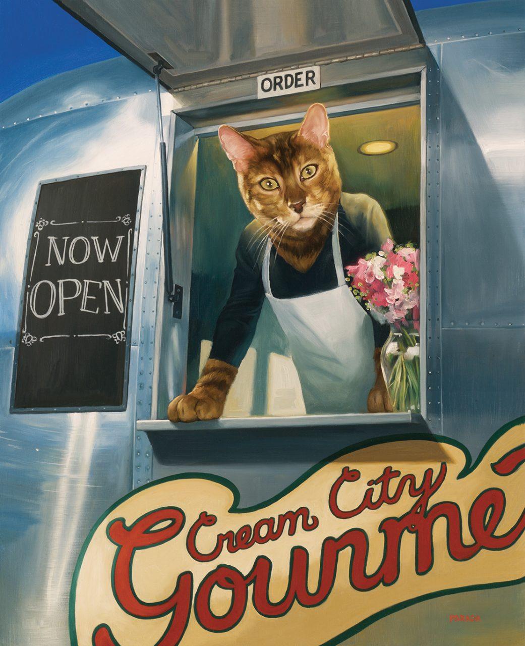 Food Truck,  Fromm Gourmet Cat Food