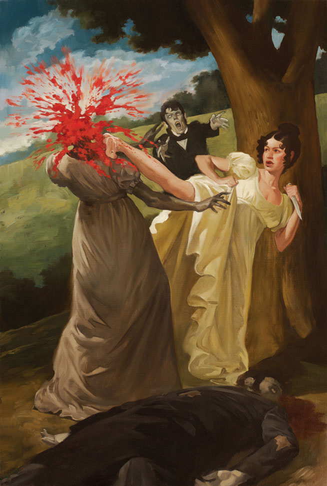 The Kick: Pride, Prejudice and Zombies, Quirk Books