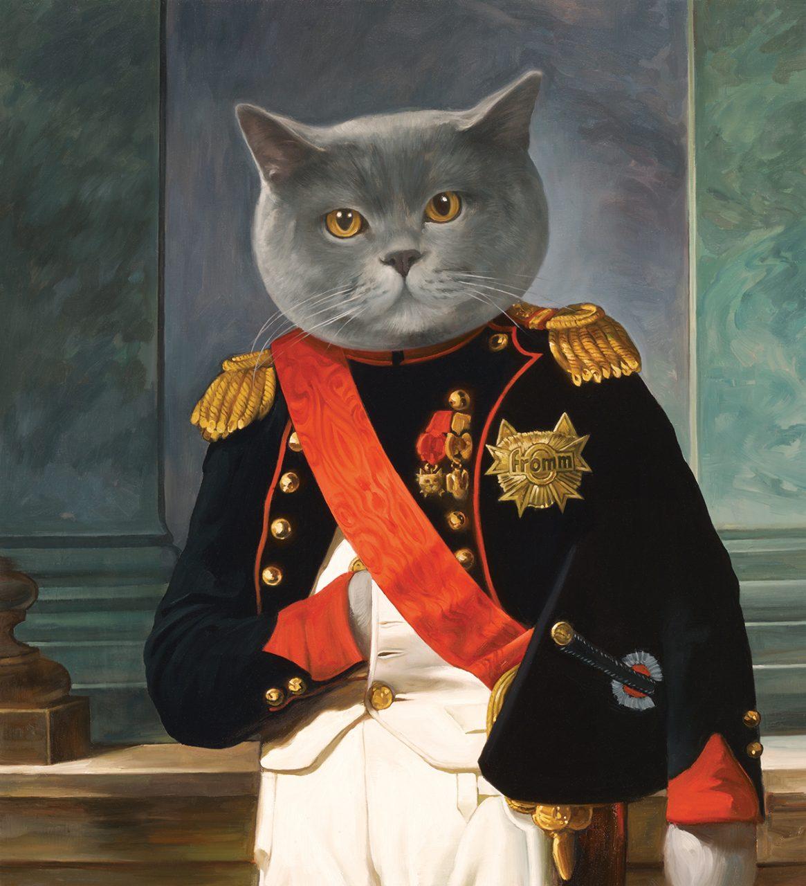 Napoleon Cat, Fromm Gourmet Cat Food