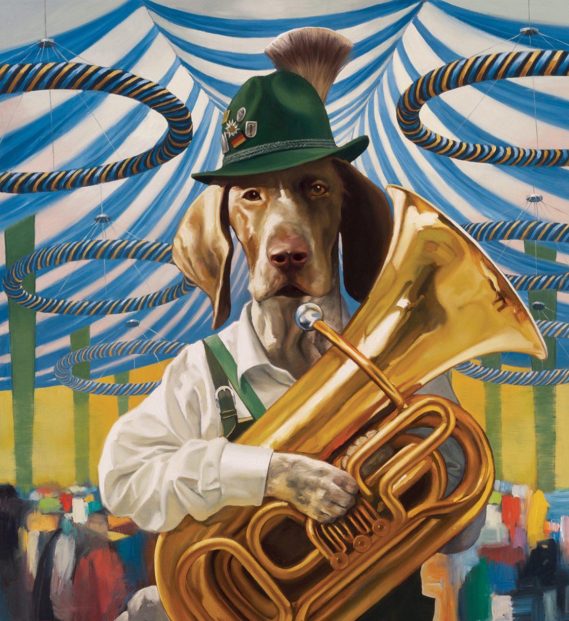 Oktoberfest Dog,  Fromm Gourmet Dog Food