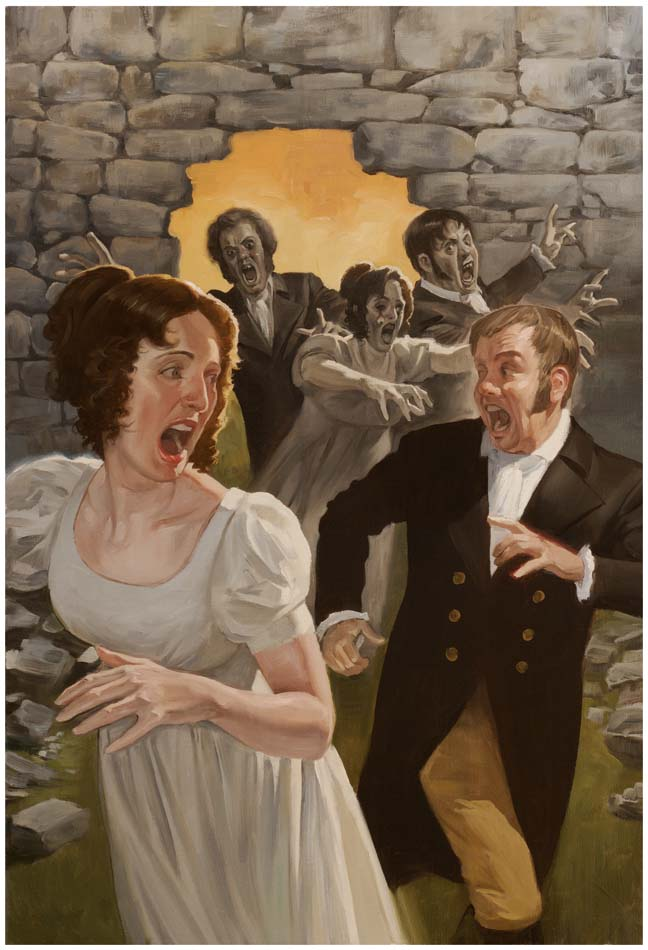 The Wall: Pride, Prejudice and Zombies,  Quirk Books