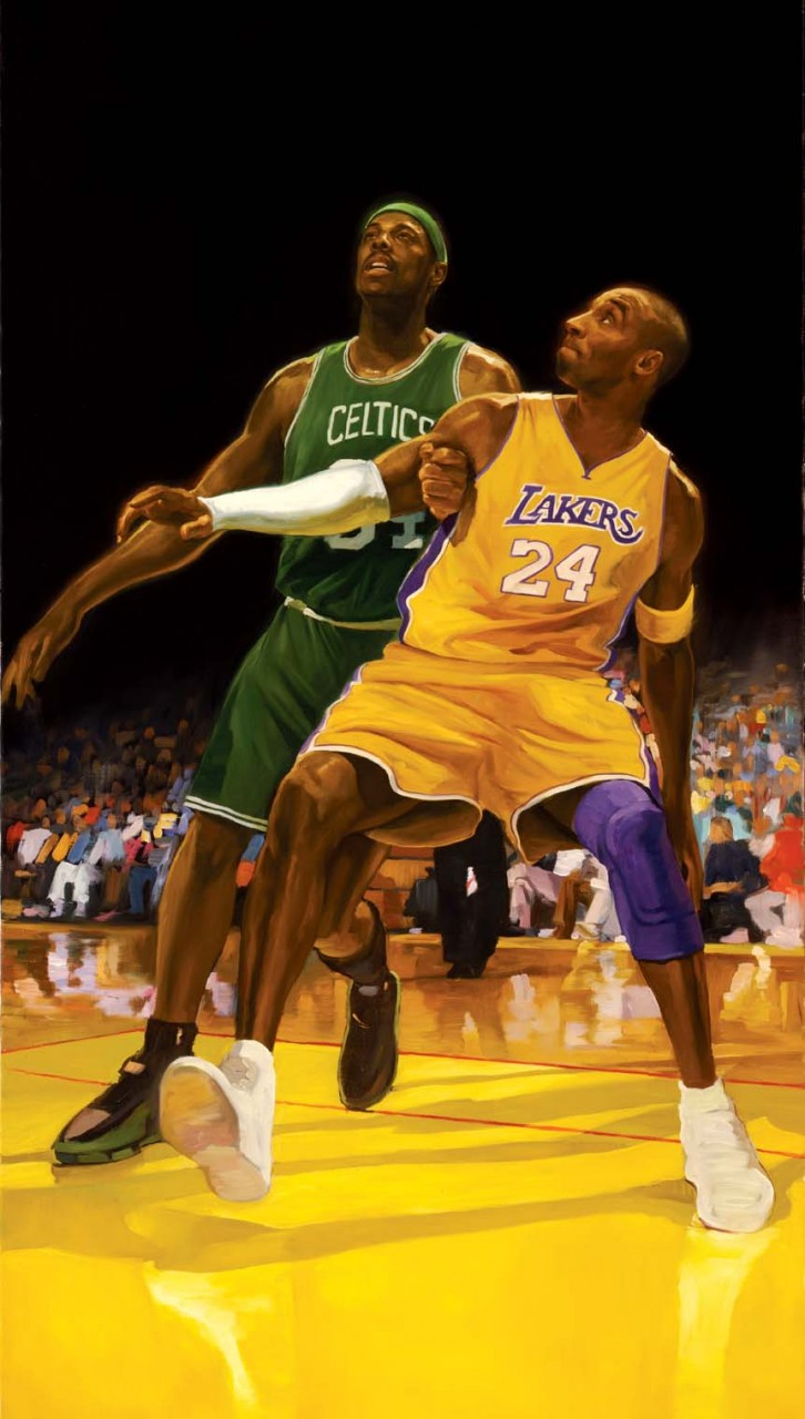 Kobe vs Pierce,  LA Times