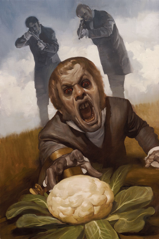 Cauliflower Trap: Pride, Prejudice and Zombies,  Quirk Books